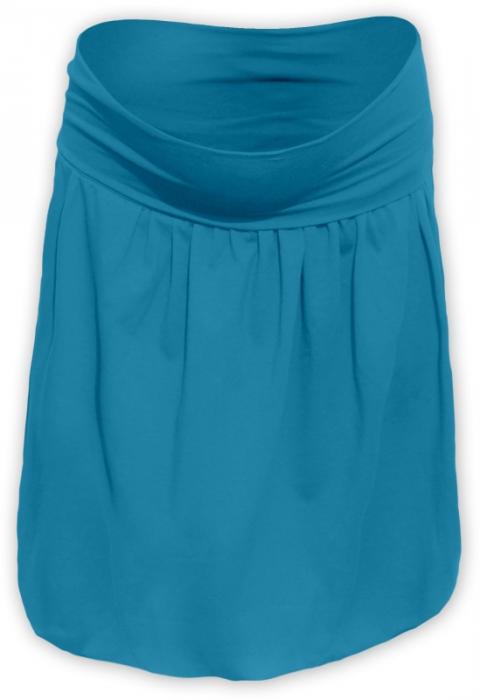 73dd1093e2c3 Těhotenská balonová sukně SABINA - petrolejová