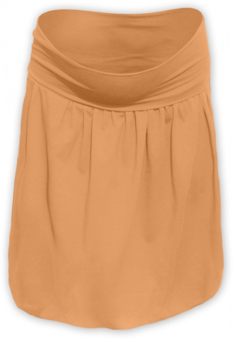babc29931112 Těhotenská balonová sukně SABINA - oranžová