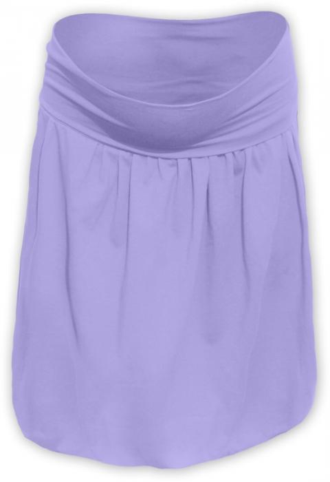 12a6c2ebdbe2 Těhotenská balonová sukně SABINA- lila