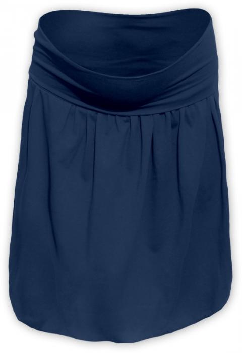 cbcb99265a6e Těhotenská balonová sukně SABINA - jeans