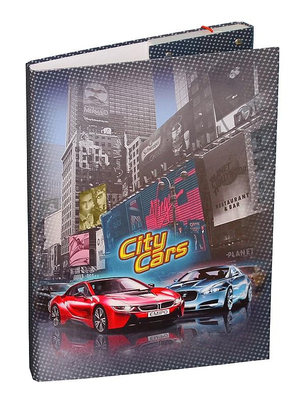 EMIPO Školní aktovkový set City Cars 5-dílný  a03aab732d
