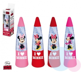 LED LAMPIČKA MINNIE - červená mix