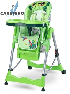 Židlička CARETERO Magnus Fun green