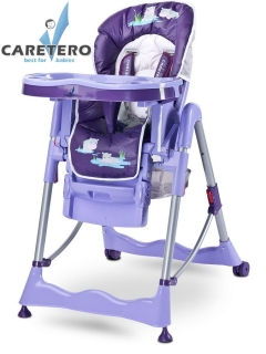 Židlička CARETERO Magnus Fun purple