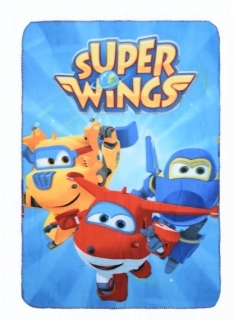 FLÍSOVÁ DEKA SUPER WINGS ph 4612
