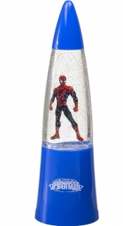 LED LAMPIČKA SPIDERMAN Eur 15238 modrá